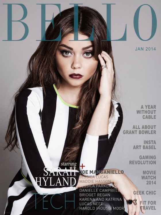 Sarah Hyland: Bello Magazine 2014 -08