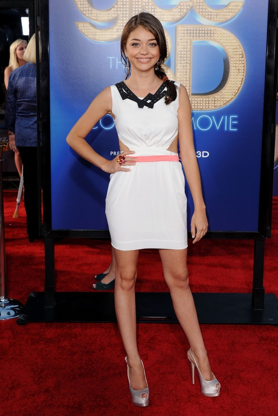 Sarah Hyland – Glee 3D Concert Movie Premiere