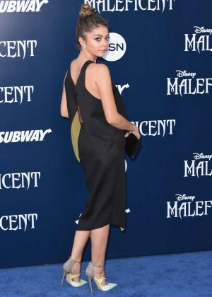Sarah Hyland in black dress -10