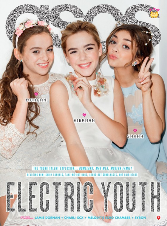 Sarah Hyland Morgan Saylor and Kiernan Shipka - ASOS Magazine - May 2013 -04