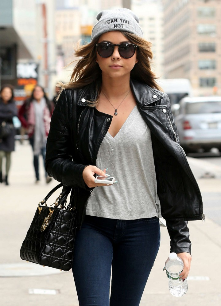 Sarah Hyland out and about in NYC