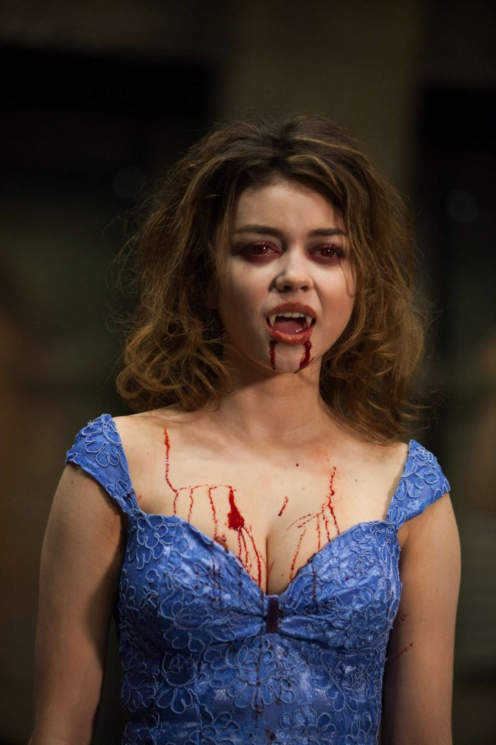 Sarah Hyland and Zoey Deutch - Vampire Academy Stills -16