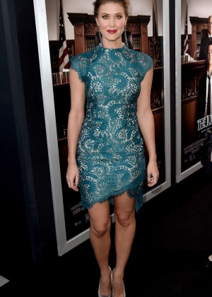 "Sarah Lancaster - ""The Judge"" Premiere in LA"