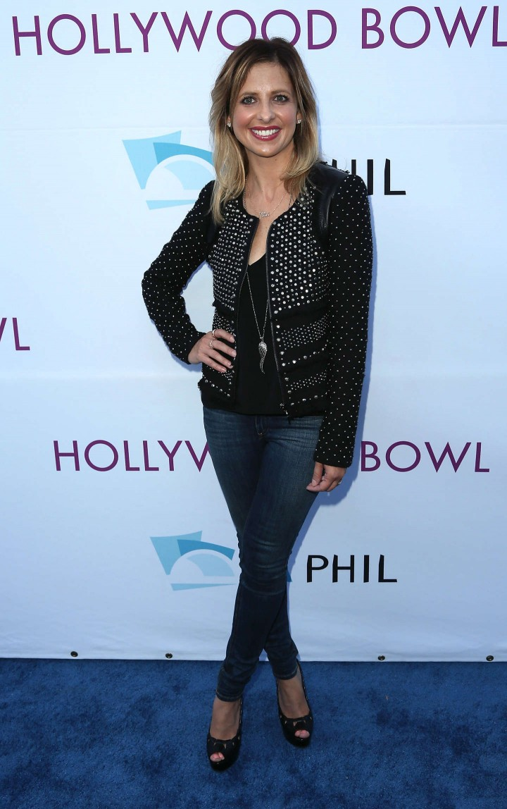 Sarah Michelle Gellar – 2014 Hollywood Bowl Opening Night and Hall of Fame Inductions in California