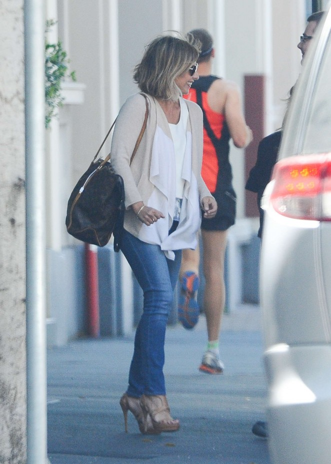 Sarah Michelle Gellar in Jeans out in Sydney