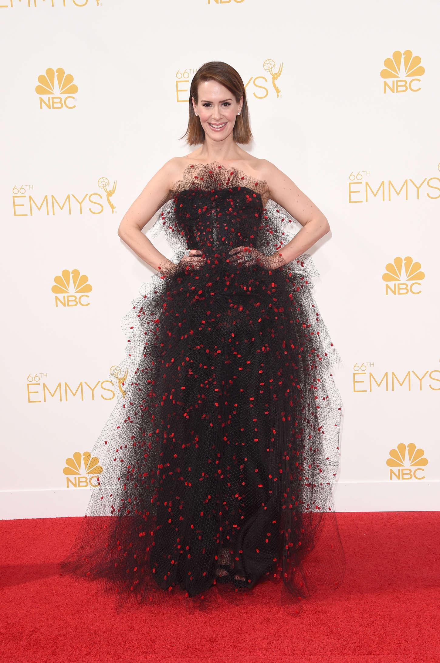 Sarah Paulson 2014 : Sarah Paulson: 2014 Primetime Emmy Awards -02