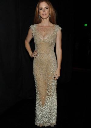 Sarah Rafferty - Creative Arts Emmy Awards 2014