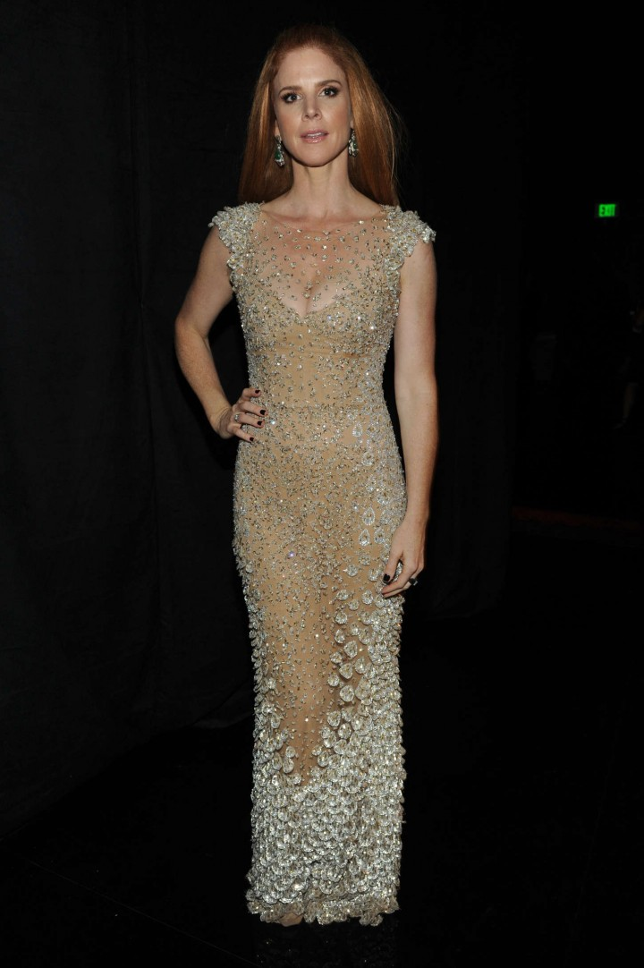 Sarah Rafferty - Creative Arts Emmy Awards 2014