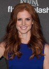 Sarah Rafferty: HFPA 2014 Golden Globe Awards -03