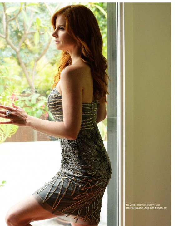 Sarah Rafferty Pictures: Regard magazine August 2013 -01
