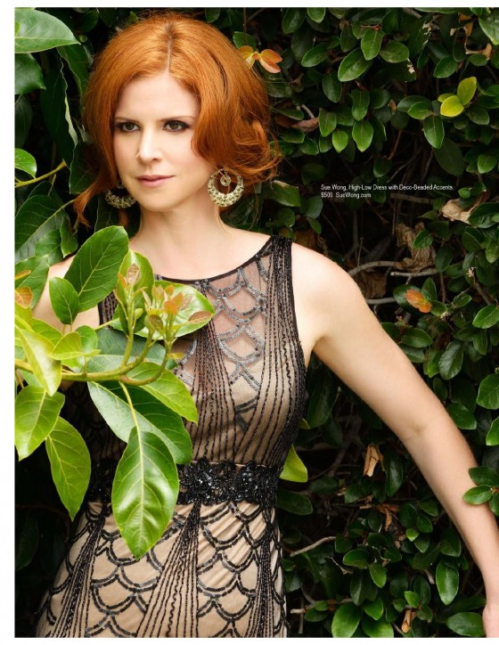 Sarah Rafferty Pictures: Regard magazine August 2013 -03