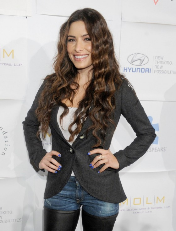 Sarah Shahi - 2012 Autism Speaks Blue Tie Blue Jean Ball in Beverly Hills