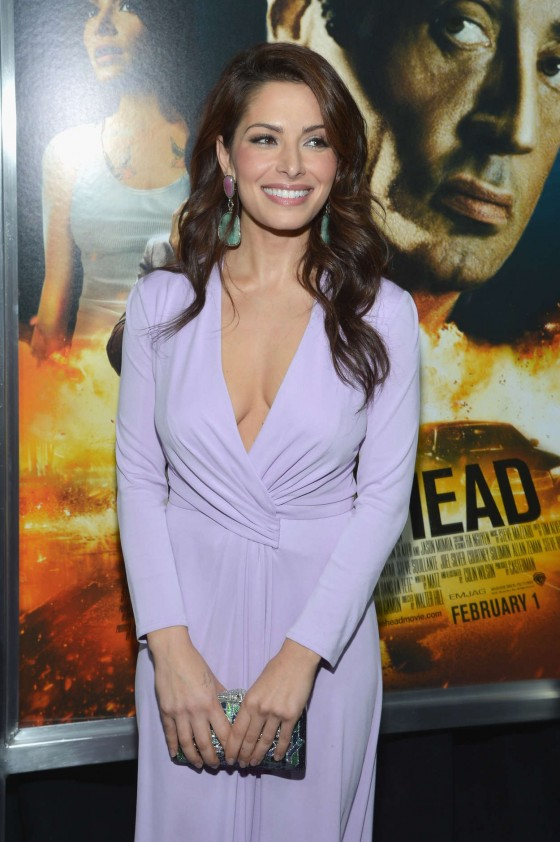 "Sarah Shahi – ""Bullet To The Head"" premiere in New York"
