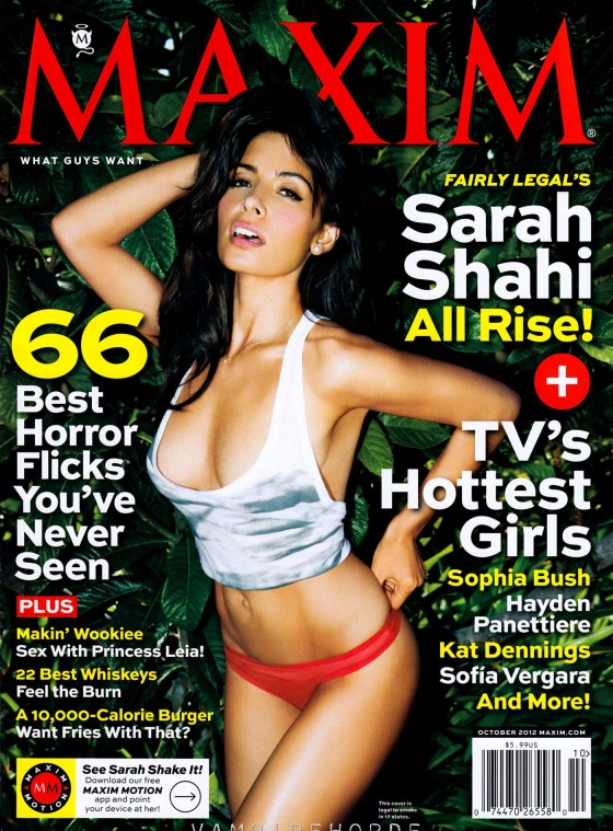 Sarah Shahi - Maxim USA Magazine (October 2012)