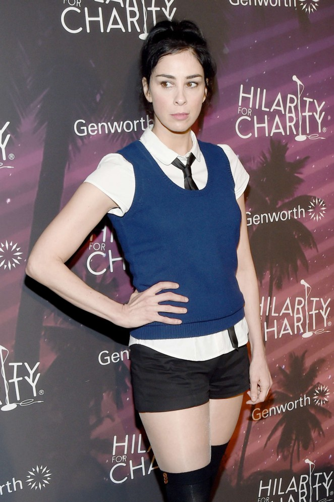 Sarah Silverman - 3rd Annual Hilarity for Charity Variety Show in Hollywood