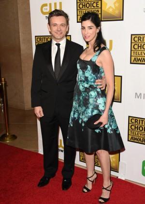 Sarah Silverman - 2014 Critics Choice Television Awards -04