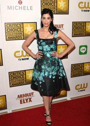 Sarah Silverman - 2014 Critics Choice Television Awards -05