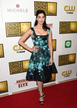 Sarah Silverman - 2014 Critics Choice Television Awards -09