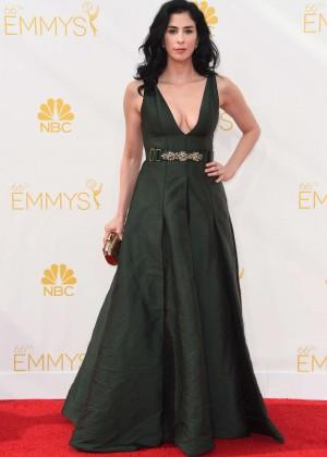 Sarah Silverman - 66th annual Primetime Emmy Awards in LA