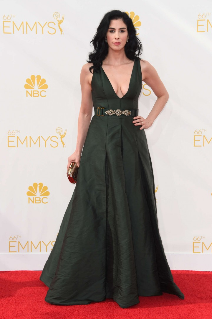 Sarah Silverman - 66th annual Primetime Emmy Awards in LA