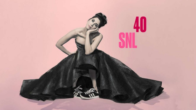 Sarah Silverman - SNL 40 Bumper Photos