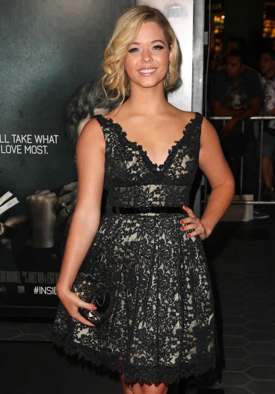 Sasha Pieterse Photos: 2013 Insidious: Chapter 2 premiere -05