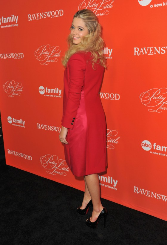 Sasha Pieterse: Pretty Little Liars Halloween Episode Screening -08