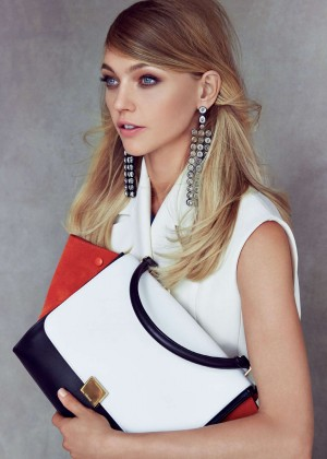 Sasha Pivovarova - Vogue US Magazine (October 2014)