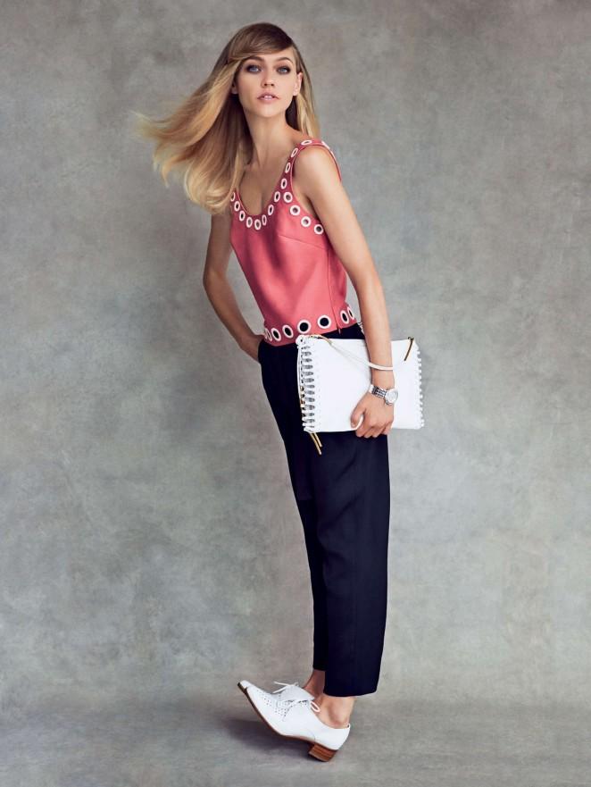 Sasha Pivovarova: Vogue US 2014 -03