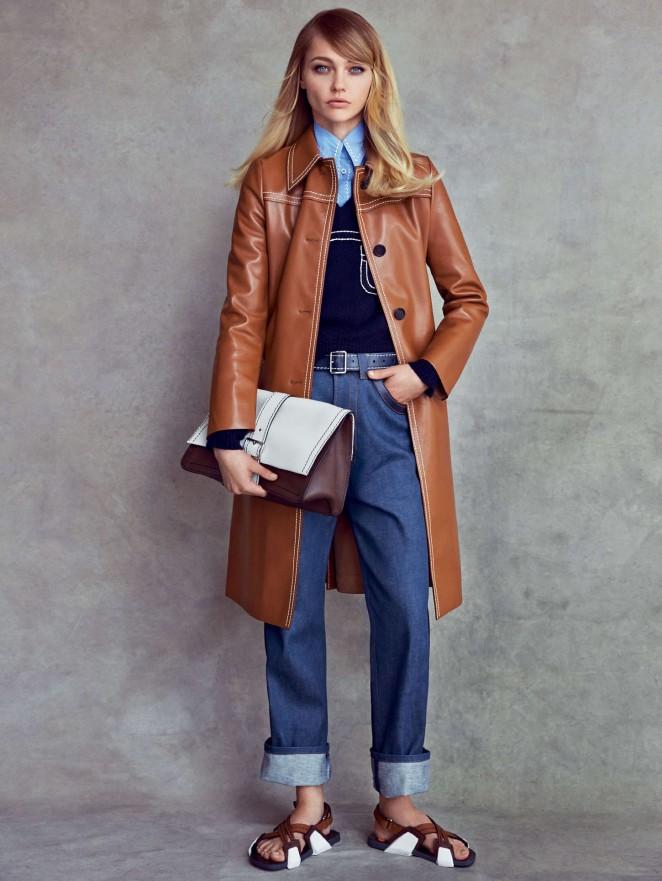 Sasha Pivovarova: Vogue US 2014 -05