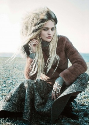 Sasha Pivovarova - Vogue US Magazine (September 2014)