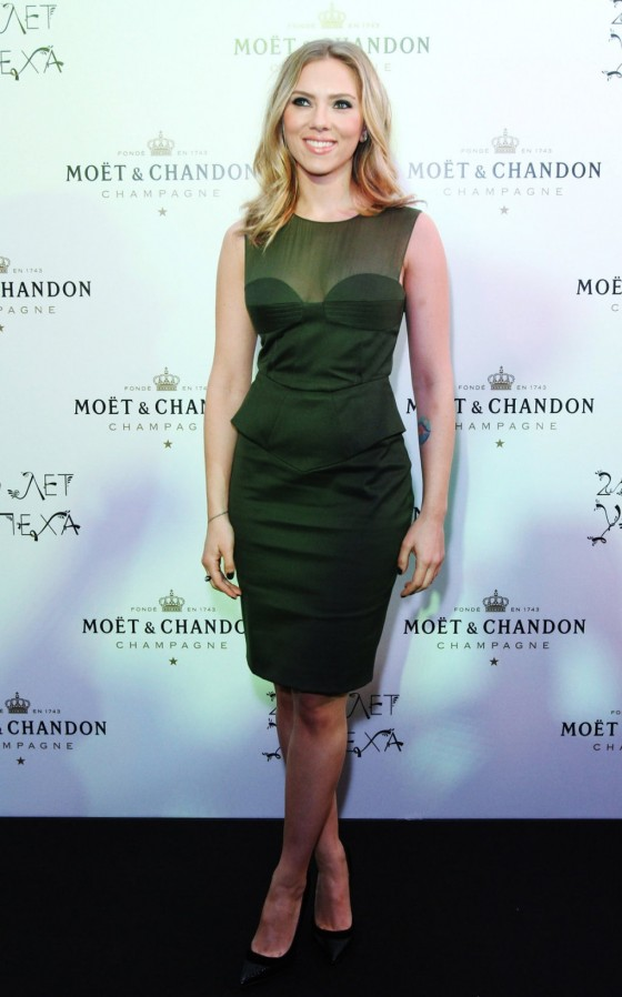 Scarlett Johansson –  250th Moet Chandon Anniversary party in Moscow