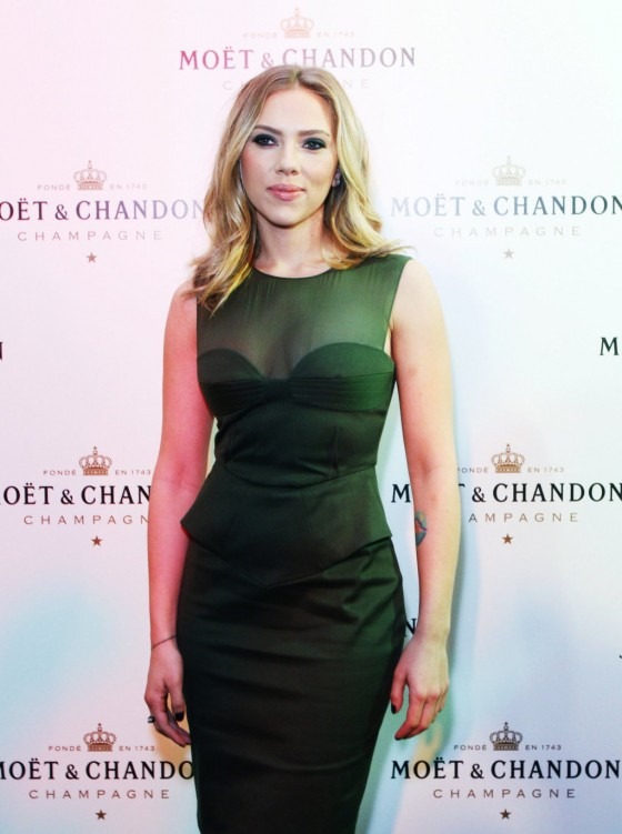 Scarlett Johansson -  2012 250th Moet Chandon Anniversary party in Moscow