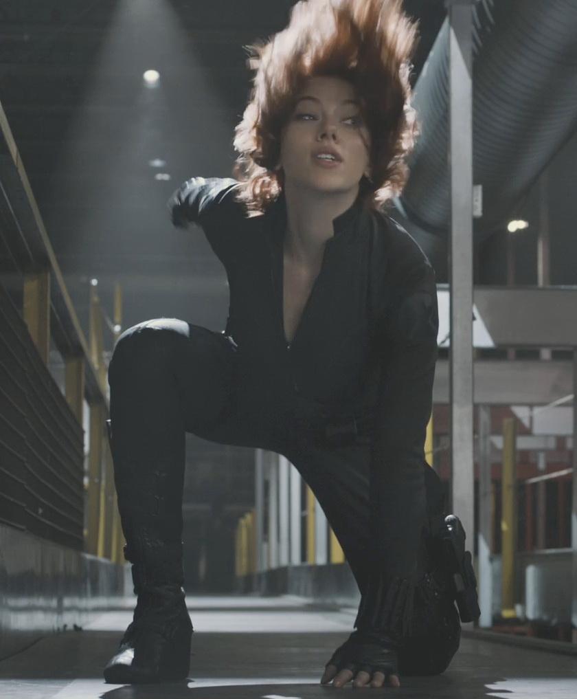 Scarlett Johansson As Black Widow In New Avengers Trailer