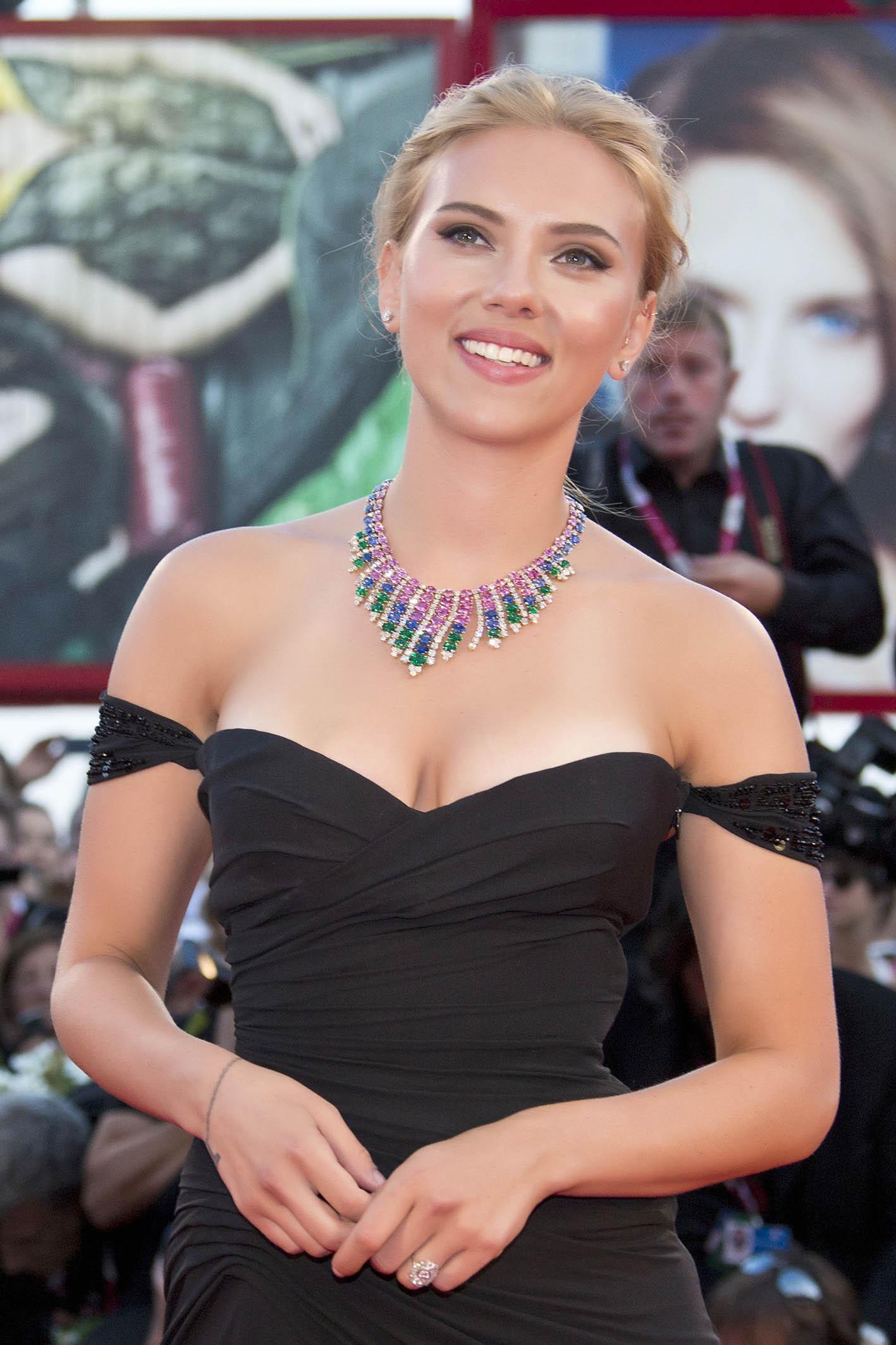 Scarlett Johansson Photos Under The Skin Premiere 09
