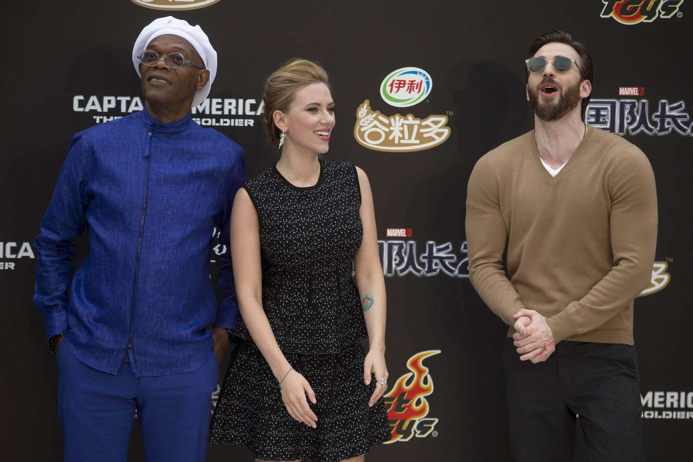 Scarlett Johansson 2014 : Scarlett Johansson: Captain America: The Winter Soldier premiere in Beijing -01
