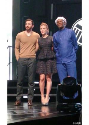 Scarlett Johansson: Captain America: The Winter Soldier premiere in Beijing -02