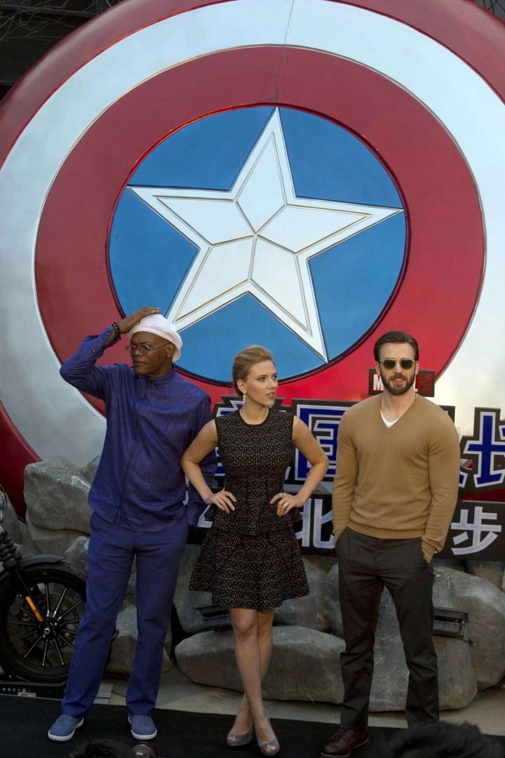 Scarlett Johansson: Captain America: The Winter Soldier premiere in Beijing -03