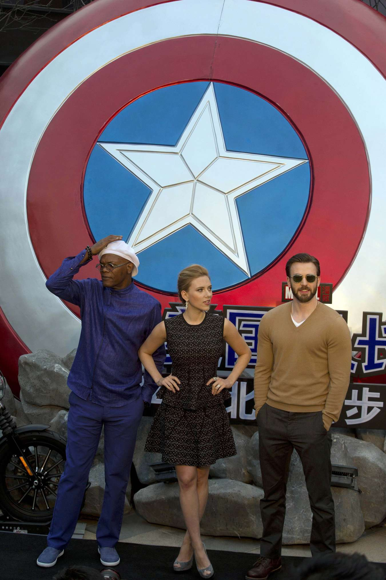 Scarlett Johansson 2014 : Scarlett Johansson: Captain America: The Winter Soldier premiere in Beijing -03