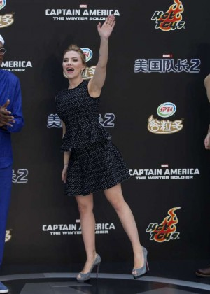 Scarlett Johansson: Captain America: The Winter Soldier premiere in Beijing -04