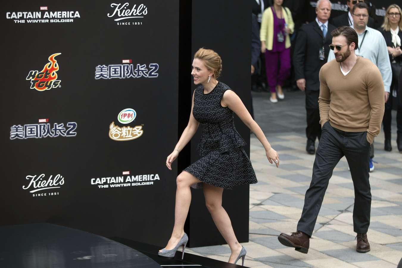 Scarlett Johansson 2014 : Scarlett Johansson: Captain America: The Winter Soldier premiere in Beijing -06