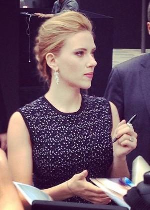 Scarlett Johansson: Captain America: The Winter Soldier premiere in Beijing -07