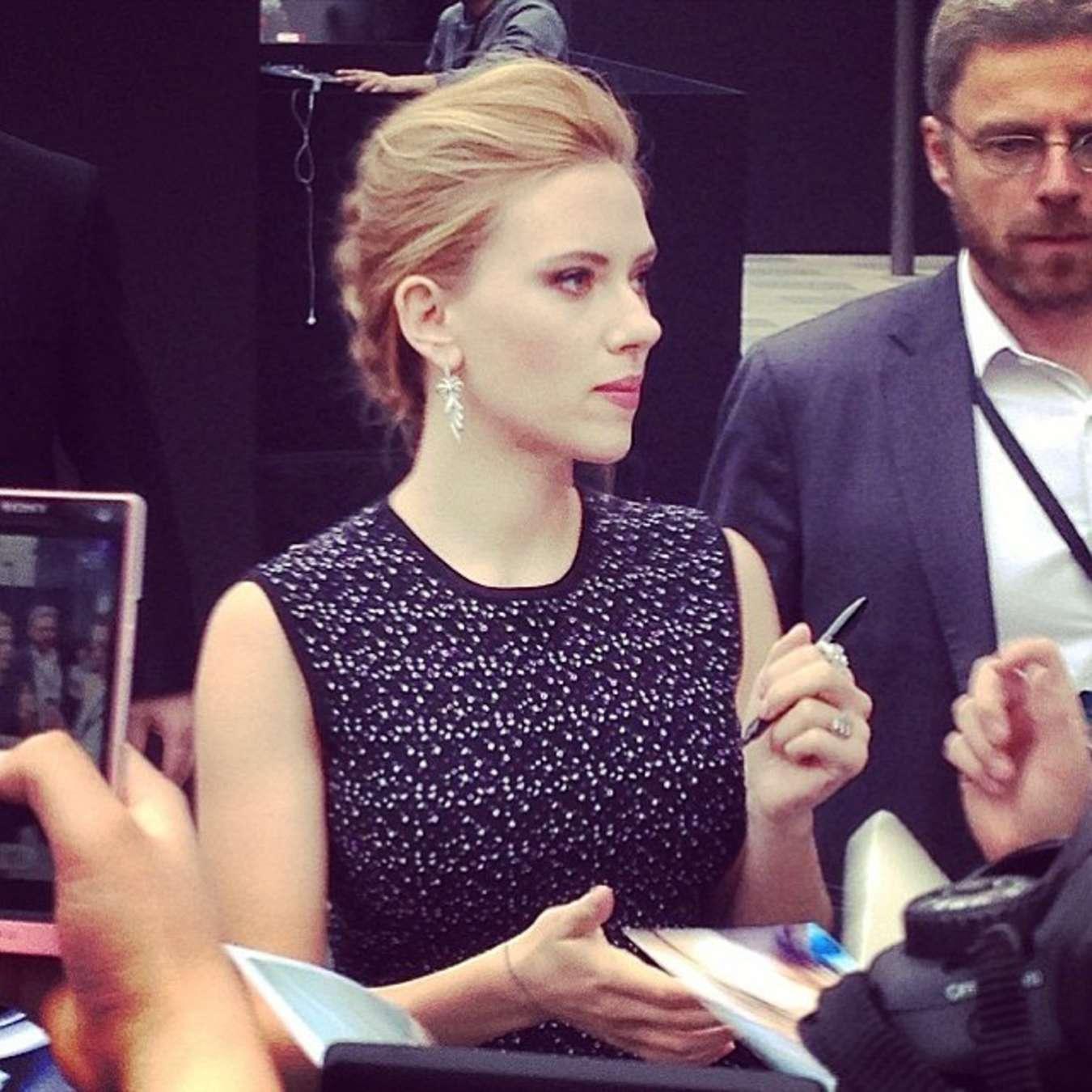 Scarlett Johansson 2014 : Scarlett Johansson: Captain America: The Winter Soldier premiere in Beijing -07
