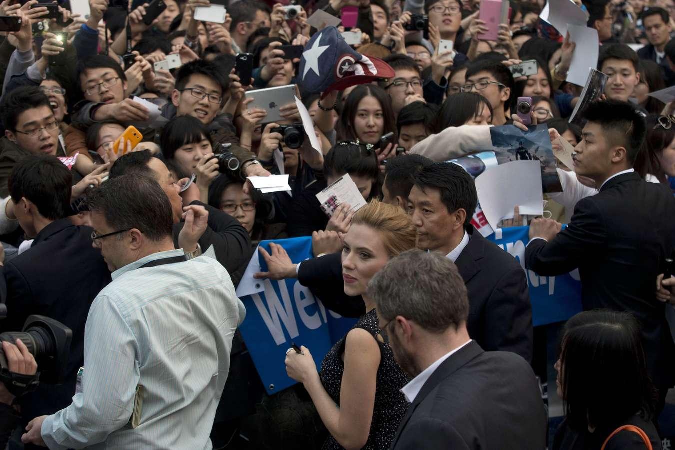 Scarlett Johansson 2014 : Scarlett Johansson: Captain America: The Winter Soldier premiere in Beijing -08