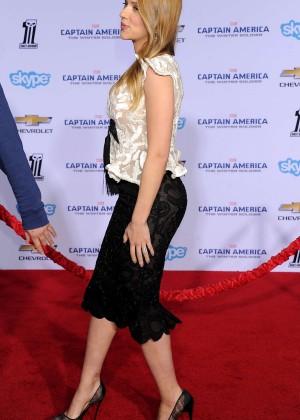 Scarlett Johansson - Captain America: The Winter Soldier Premiere -03