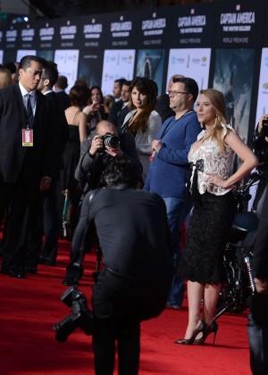 Scarlett Johansson - Captain America: The Winter Soldier Premiere -07