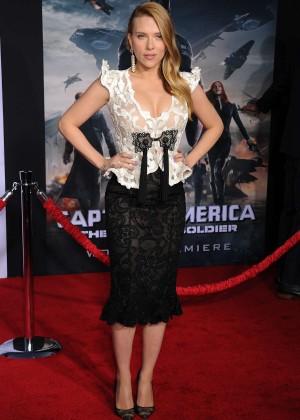 Scarlett Johansson - Captain America: The Winter Soldier Premiere -16