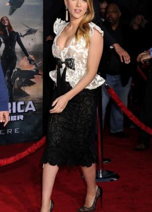 Scarlett Johansson - Captain America: The Winter Soldier Premiere -19