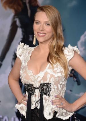 Scarlett Johansson - Captain America: The Winter Soldier Premiere -20
