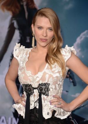 Scarlett Johansson - Captain America: The Winter Soldier Premiere -21